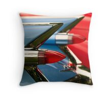 Cadillac Taillights Throw Pillow