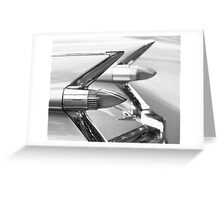 Caddy Taillights Greeting Card