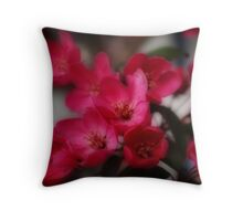 Dreamy Blossoms Throw Pillow