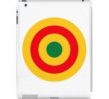 Roundel of the Rwandan Air Force  iPad Case/Skin