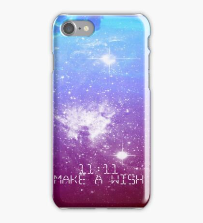 11:11 Make a Wish iPhone Case/Skin