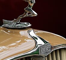 1931 Auburn Hood Ornament by dlhedberg