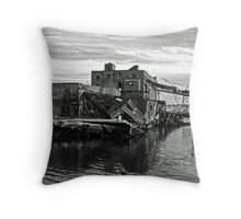 RUNNING OUT OF OPTIONS Throw Pillow
