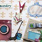 Laundry door sign by evapod
