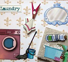 Laundry door sign by evapod