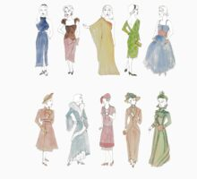 Dress through the Decades Kids Tee
