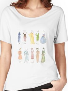 Dress through the Decades Women's Relaxed Fit T-Shirt