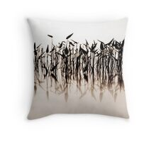 A Faded Reflection Throw Pillow