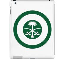 Roundel of the Royal Saudi Air Force iPad Case/Skin