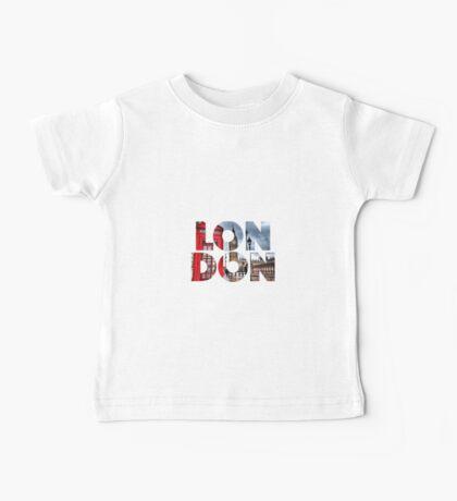 London - UK - Great Britain Baby Tee