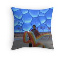 Water Cube Throw Pillow