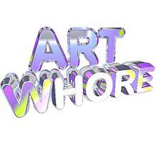 Art Whore Photographic Print