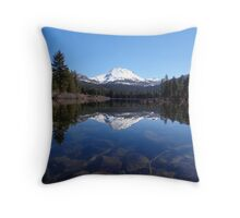 Underwater Rocks at Manzanita Lake Throw Pillow