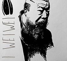 Ai Wei Wei by Jeff Carter