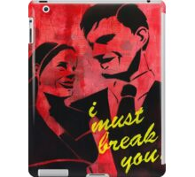The Dating Game iPad Case/Skin