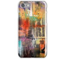 New York Times Square and Taxi Series #49 iPhone Case/Skin