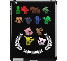 Super Smash Bros-Senior Class '99 iPad Case/Skin