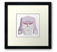 Transformers Megatron Face Framed Print