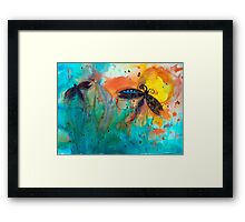 Attracted Framed Print