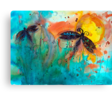 Attracted Canvas Print