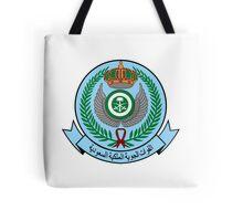 Emblem of the Royal Saudi Air Force  Tote Bag