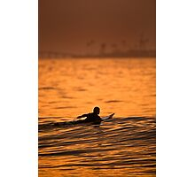 Paddling Out Photographic Print