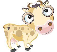 Mooo Cow Cartoon Character by Gotcha29