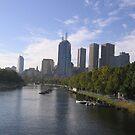 Melbourne Yarra River by evapod