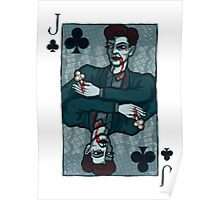 Vampire Jack of Clubs Poster