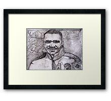 Johnny Bright CFL 1959 Framed Print