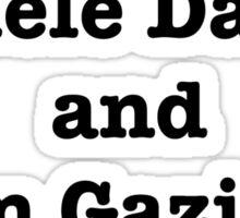 Adele Dazib and Glom Gazimbo Sticker