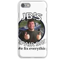 JB's Repair Shop iPhone Case/Skin
