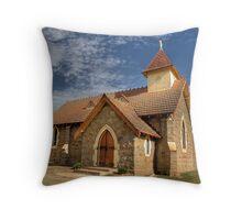 Currawong Church Throw Pillow