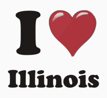 I love Illinois by ColaBoy