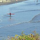 Autumn in Rhode Island | Ocean Views - Surfer by Jack McCabe