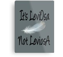 It's LeviOsa, not LeviosA Metal Print