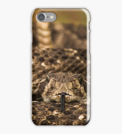 Texas Rattler iPhone Case/Skin