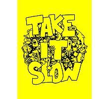 Doodle Illustration 'Take It Slow' Photographic Print