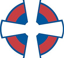 Roundel of the Serbian Air Force by abbeyz71