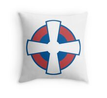 Roundel of the Serbian Air Force Throw Pillow