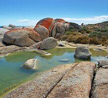 Rock pool #2 by Peter Hammer