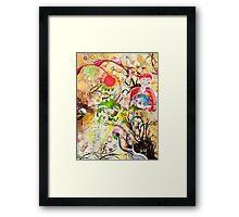 Psilocybin Mushrooms Framed Print