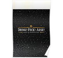 Drink! Feck! Arse! Poster