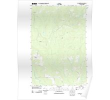 Maine USGS Historical Map Picard Brook 20110831 TM Poster