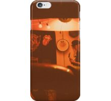 Garage in sepia iPhone Case/Skin