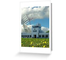 Brooklands Flypast Greeting Card
