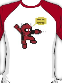 8-bit Mega-Deadpool T-Shirt
