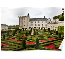 Villandry Castle - Loire Valley - France 2 Poster