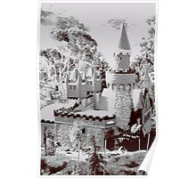 Fairy castle turret Poster