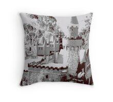 Fairy castle turret Throw Pillow